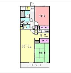 フォレストオブステイション[3階]の間取り