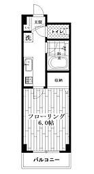 東京都杉並区堀ノ内3丁目の賃貸マンションの間取り