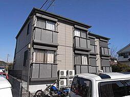 神奈川県横浜市青葉区市ケ尾町の賃貸アパートの外観