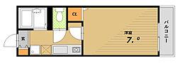 シリウスポッラ[2階]の間取り