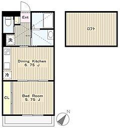 コンフォートハウス[1階]の間取り
