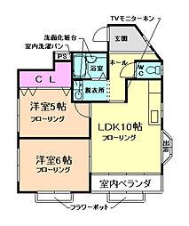 新藤ビル[3階]の間取り