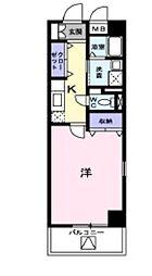 サニーレジデンス YK[3階]の間取り