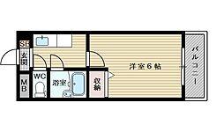 新大阪アネックス土井マンションB[1階]の間取り