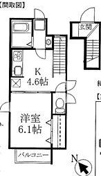 プランドールソフィア3[2階]の間取り