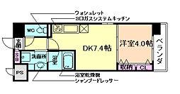 シャイニング福島離宮[6階]の間取り