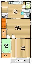 本庄8ビル[3階]の間取り