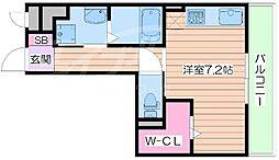 メゾン・ド・ワギィ[2階]の間取り