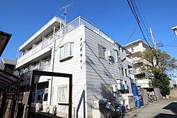 神奈川県川崎市多摩区布田の賃貸マンションの外観