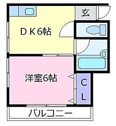 来夢99[2階]の間取り