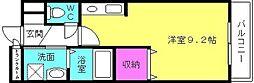アビタシオン68[108号室]の間取り
