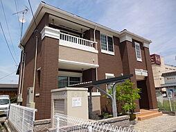 滋賀県彦根市肥田町の賃貸アパートの外観