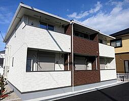 愛知県額田郡幸田町大字高力字神山の賃貸アパートの外観