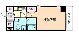 プラ・ディオ天満セレニテ[10階]の間取り