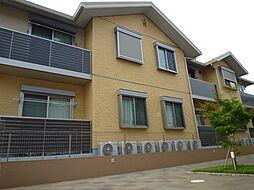 神奈川県横浜市青葉区荏田北3丁目の賃貸アパートの外観