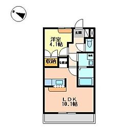 ボーヤハイム[2階]の間取り
