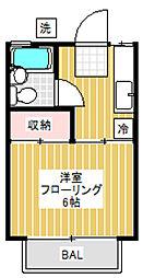 アネックスM[2階]の間取り