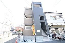 大阪府堺市堺区南半町西2丁の賃貸アパートの外観