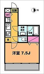 月村マンションNo7[2階]の間取り