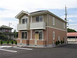 岡山県倉敷市中畝3丁目の賃貸アパートの外観