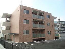 滋賀県栗東市手原1丁目の賃貸マンションの外観