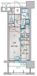 アクタス箱崎ステーションコート[1302号室]の間取り