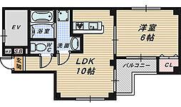 パークT'ホームズザビエル[3階]の間取り