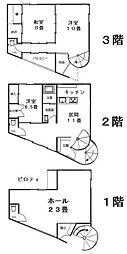 [一戸建] 岡山県倉敷市美和1丁目 の賃貸【/】の間取り