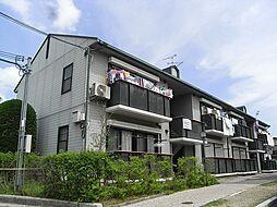 兵庫県川西市萩原1丁目の賃貸アパートの外観