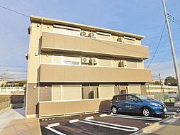 神奈川県横浜市旭区中希望が丘の賃貸アパートの外観