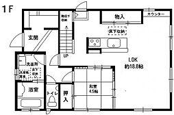 [一戸建] 福岡県福岡市中央区平尾5丁目 の賃貸【/】の間取り