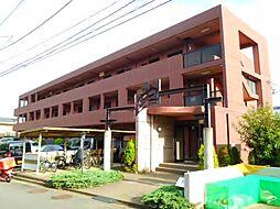 神奈川県厚木市温水西2丁目の賃貸マンションの外観