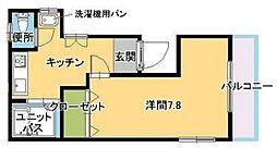 副島ビル[2階]の間取り