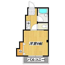 第2永和ビル[201号室]の間取り