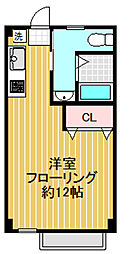 第5三井ビル[101号室]の間取り
