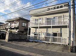 栃木県小山市城北3丁目の賃貸アパートの外観