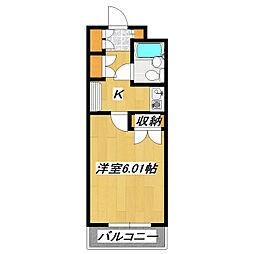 プレシャスタウン[2階]の間取り