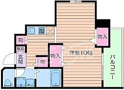 TNG tenjin[3階]の間取り