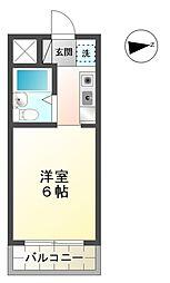 愛知県豊田市神田町2丁目の賃貸マンションの間取り