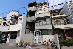 大阪府大阪市旭区高殿5丁目の賃貸マンションの外観