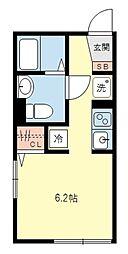 ティーエム三軒茶屋[3階]の間取り