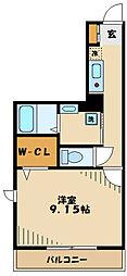 多摩市豊ヶ丘1丁目新築PJ 1階1Kの間取り