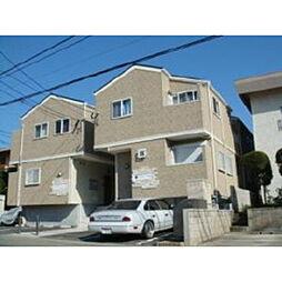 福岡県福岡市東区水谷3丁目の賃貸アパートの外観
