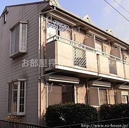 東京都中野区白鷺1丁目の賃貸アパートの外観