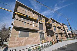 大阪府吹田市山田東3丁目の賃貸アパートの外観