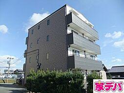 愛知県豊田市宝町津花の賃貸マンションの外観