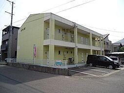 愛知県豊田市上郷町2丁目の賃貸アパートの外観