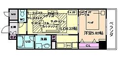 スペチアーレ[8階]の間取り