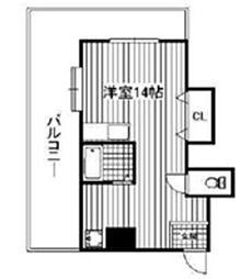 キララ的場[3階]の間取り