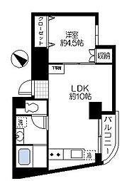 茅ヶ崎アメニティ[4階]の間取り